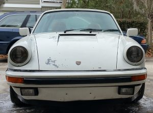 A New Home for a barnfind Porsche 911 with a Flat Tire 52