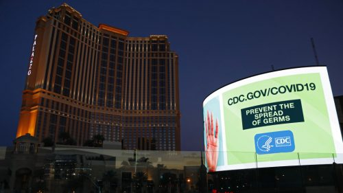 Las Vegas opens after corona virus