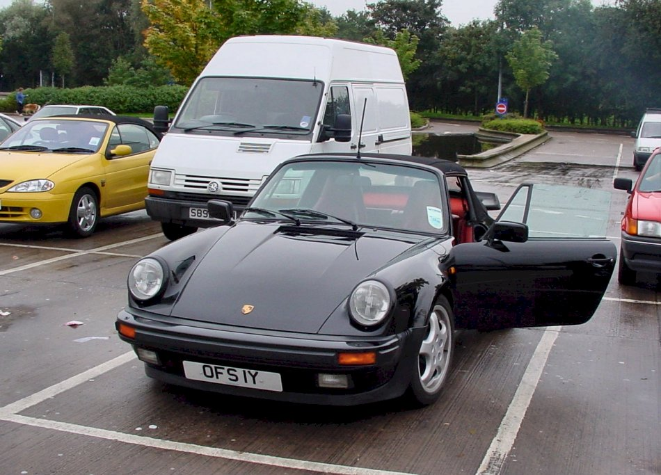 My old English Porsche 911 Supersport (Widebody) SSE Cabriolet 1