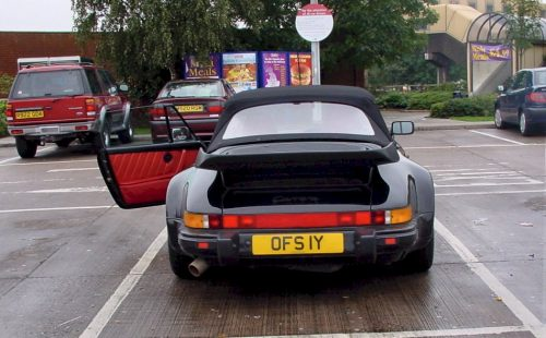 My old English Porsche 911 Supersport (Widebody) SSE Cabriolet 33