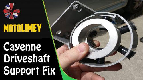 How to Fix the Porsche Cayenne Drive Shaft Clamp Bearing Support Mount 25