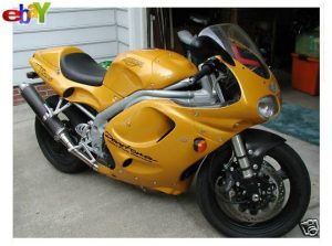 I just bought a Triumph Daytona T595 - 955 injection in Strontium Yellow 76